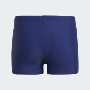 синий Плавки для бассейна