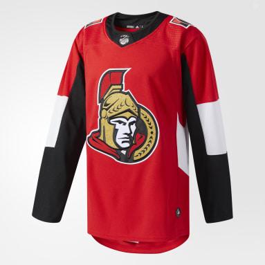 Maillot Senators Domicile Authentique Pro rouge Hockey