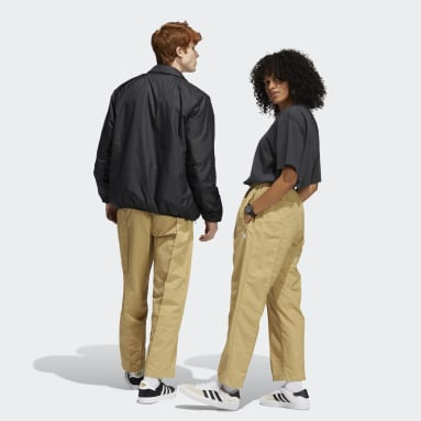 PINTUCK PANT Beżowy