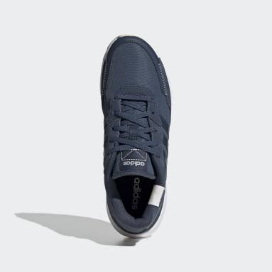 Women's Essentials Blue Retrorun Shoes