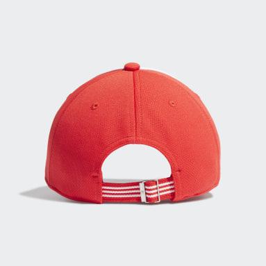 Originals สีแดง หมวกเบสบอล Adicolor Collegiate