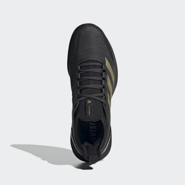 Women Tennis Grey Marimekko Adizero Ubersonic 4 Tennis Shoes
