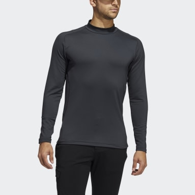 Heren Golf Grijs Sport Performance Recycled Content COLD.RDY Longsleeve