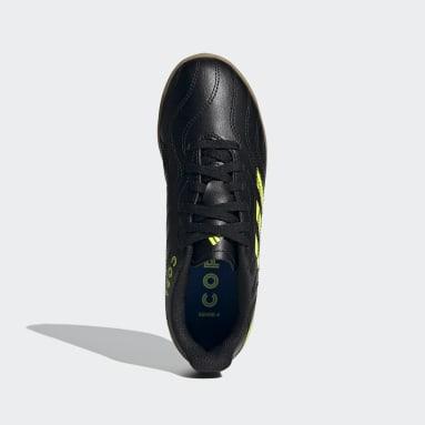 Boys Futsal Black Copa Sense.4 Indoor Boots