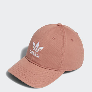 Women's Originals Pink Relaxed Strap-Back Hat