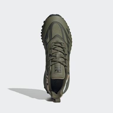 Men's Originals Green ZX 2K Boost 2.0 Trail Shoes