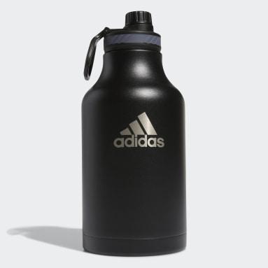 Boxing Black Steel Metal Bottle 2L