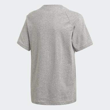 Camiseta Estampada Adicolor Cinza Kids Originals