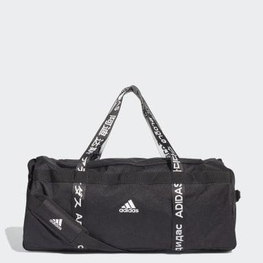 Volleyboll Svart 4ATHLTS Duffel Bag Large