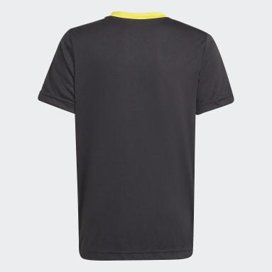 Kinderen Fitness En Training Zwart adidas x LEGO® Move AEROREADY T-shirt