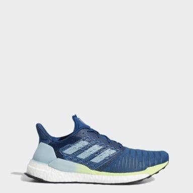 Erkek Koşu Mavi Solar Boost Ayakkabı
