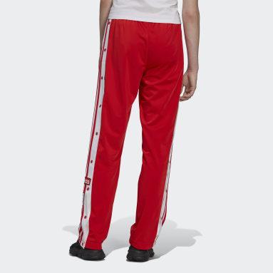 Calças Adibreak Classics Adicolor Vermelho Mulher Originals