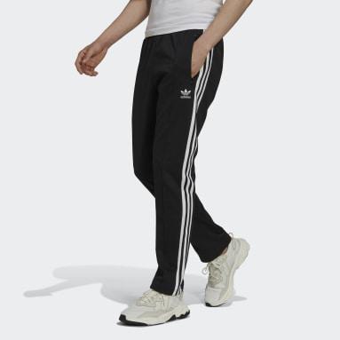 Men Originals Black Adicolor Classics Beckenbauer Primeblue Track Pants