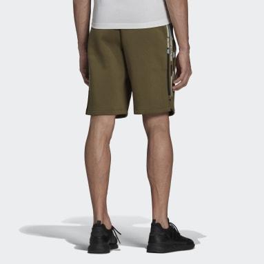 Shorts Estampado Camo Verde Homem Originals