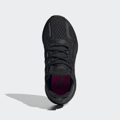 Kids Originals Black ZX 2K Boost Shoes