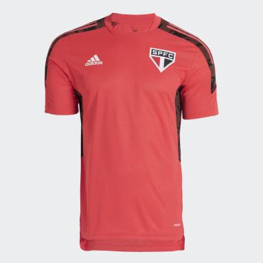 Camisa Treino São Paulo FC Rosa Homem Futebol