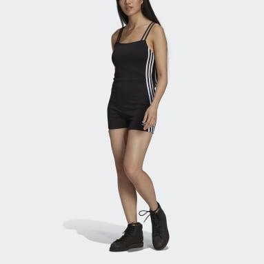 Women Originals Black Adicolor Classics Playsuit