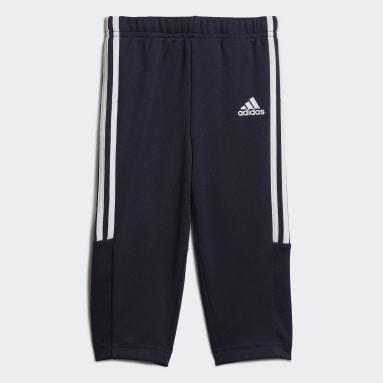 Boys Fodbold Blå Sereno bukser