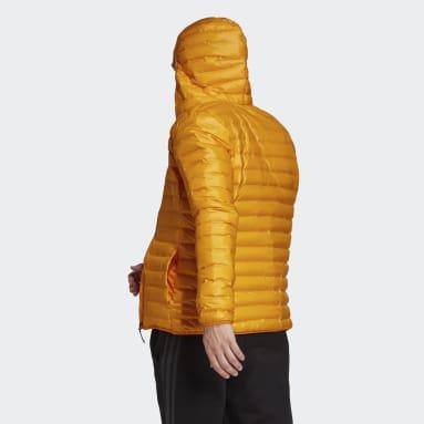 Doudoune Varilite Hooded Orange Hommes City Outdoor