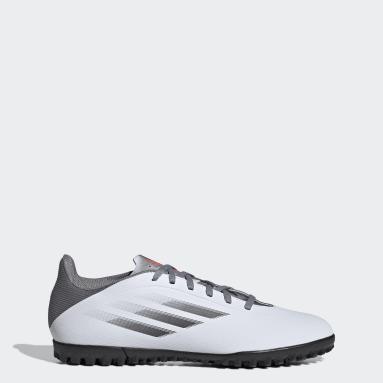 Zapatos de fútbol X Speedflow.4 Pasto Sintético Blanco Fútbol