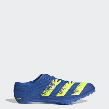 Track & Field Blue Adizero Finesse Spikes