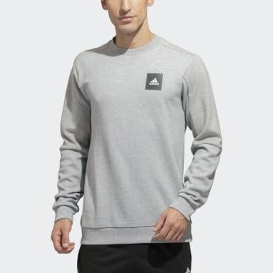 Men Sportswear Grey Must Haves Crew Sweatshirt