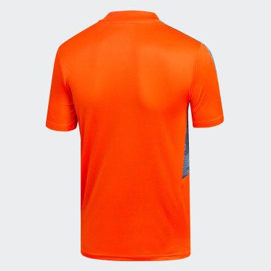 Camiseta de Entrenamiento Club Universidad de Chile Naranjo Niño Fútbol