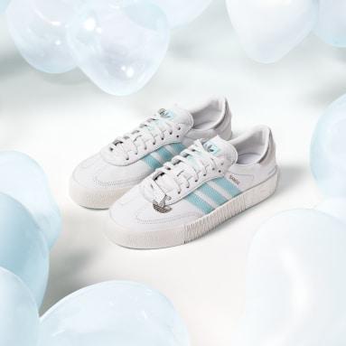 SAMBAROSE Shoes with Swarovski® Crystals Bialy