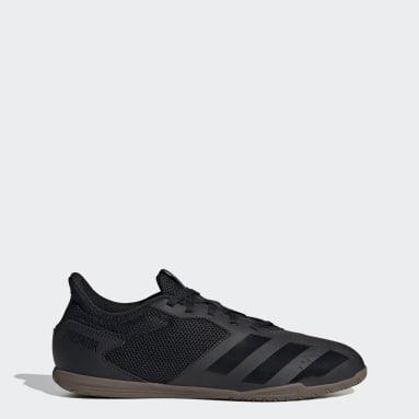 Soccer Black Predator 20.4 Indoor Sala Shoes