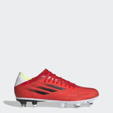 Scarpe da calcio X Speedflow.3 Soft Ground Rosso Calcio