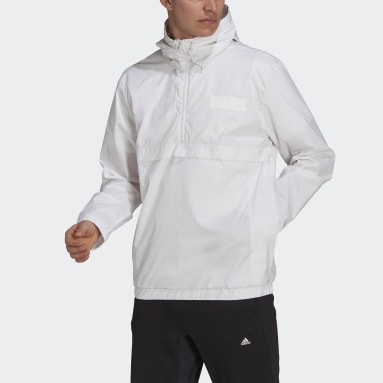 Coupe-vent Parley Blanc Hommes Sportswear
