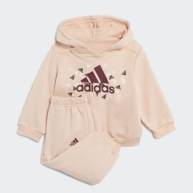 Kids Gym & Training Pink Badge of Sport Graphic Jogger