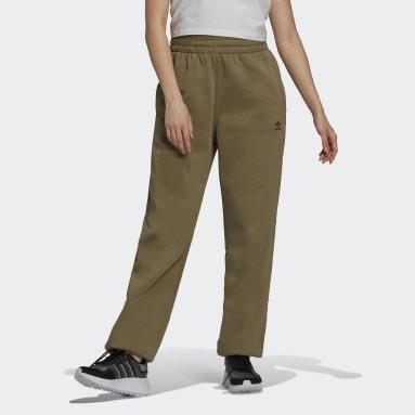зеленый Брюки-джоггеры Adicolor Essentials Fleece