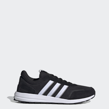Men Running Black Retrorun Shoes