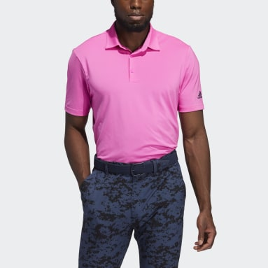 Polo Ultimate365 Solid Rosa Hombre Golf