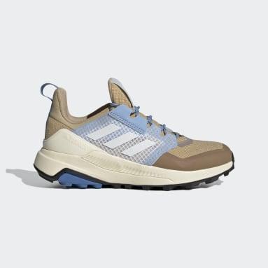 Women TERREX Beige Terrex Trailmaker Primegreen Hiking Shoes