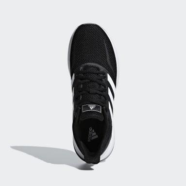 Women Running Black Runfalcon Shoes
