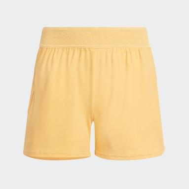 Girls Gym & Training Orange HEAT.RDY Shorts