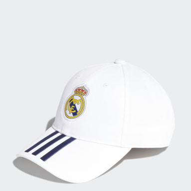 Boné Baseball Real Madrid Branco Futebol