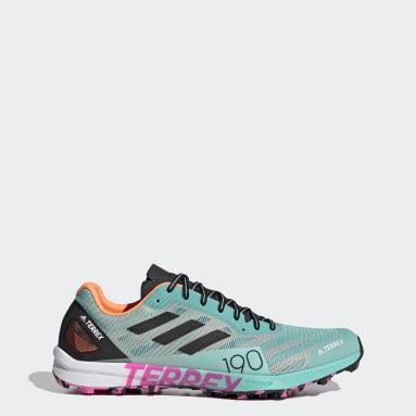 Men TERREX Green Terrex Speed Pro Trail Running Shoes