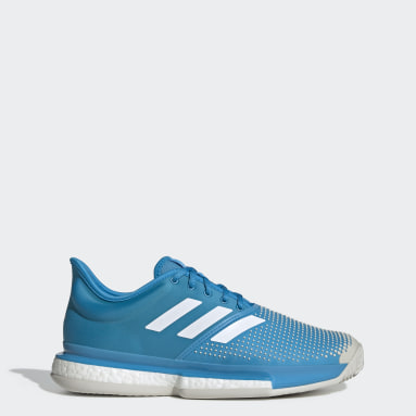 Men's Tennis Turquoise SoleCourt Clay Shoes