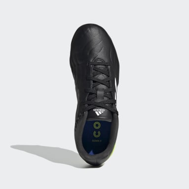 Kids Football Black Copa Sense.3 Firm Ground Boots