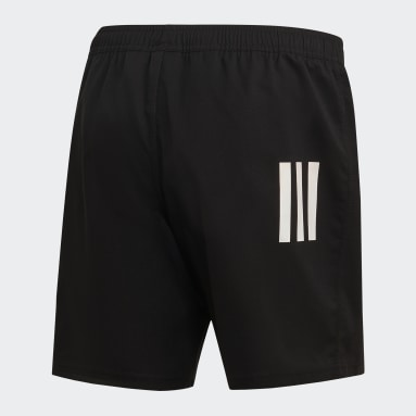 Short 3-Stripes Noir Hommes Rugby