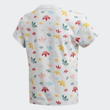 T-shirt Bianco Bambini Originals