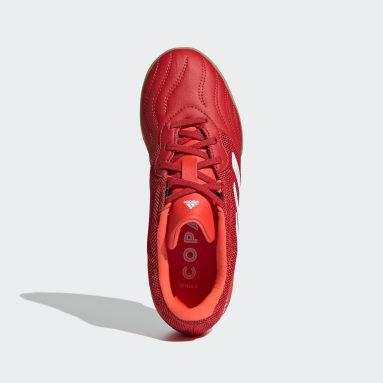 Barn Futsal Röd Copa Sense.3 Indoor Sala Boots