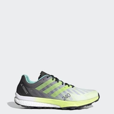 Men TERREX White Terrex Speed Ultra Trail Running Shoes