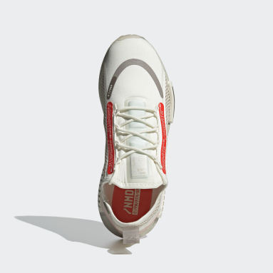 Originals สีขาว รองเท้า NMD_R1 Spectoo