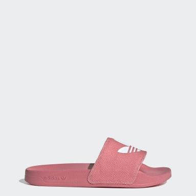 Women Originals Pink Adilette Lite Slides