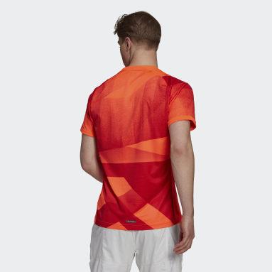 Männer Tennis Freelift Tokyo HEAT.RDY Tennis T-Shirt Rot