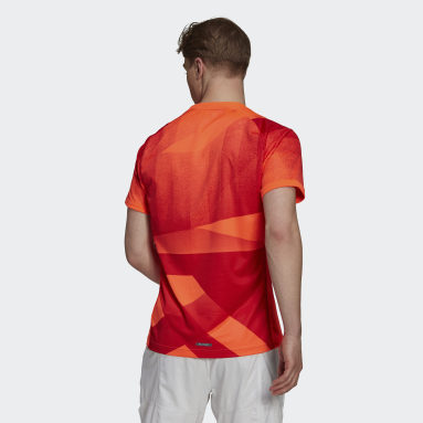 T-shirt da tennis Freelift Tokyo HEAT.RDY Rosso Uomo Tennis